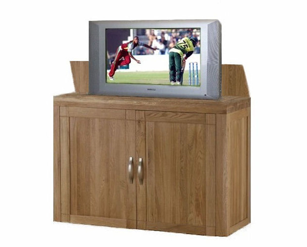 Pop Up Cabinets : Tv lift pop up cabinet hidden cabinets